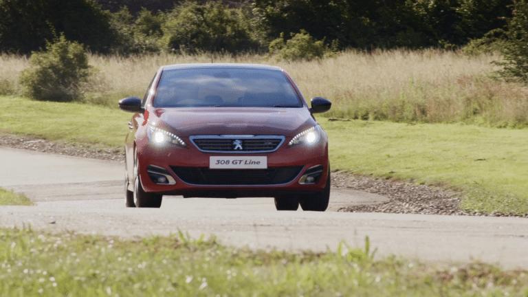 Promotional Video Production Peugeot Test Drive