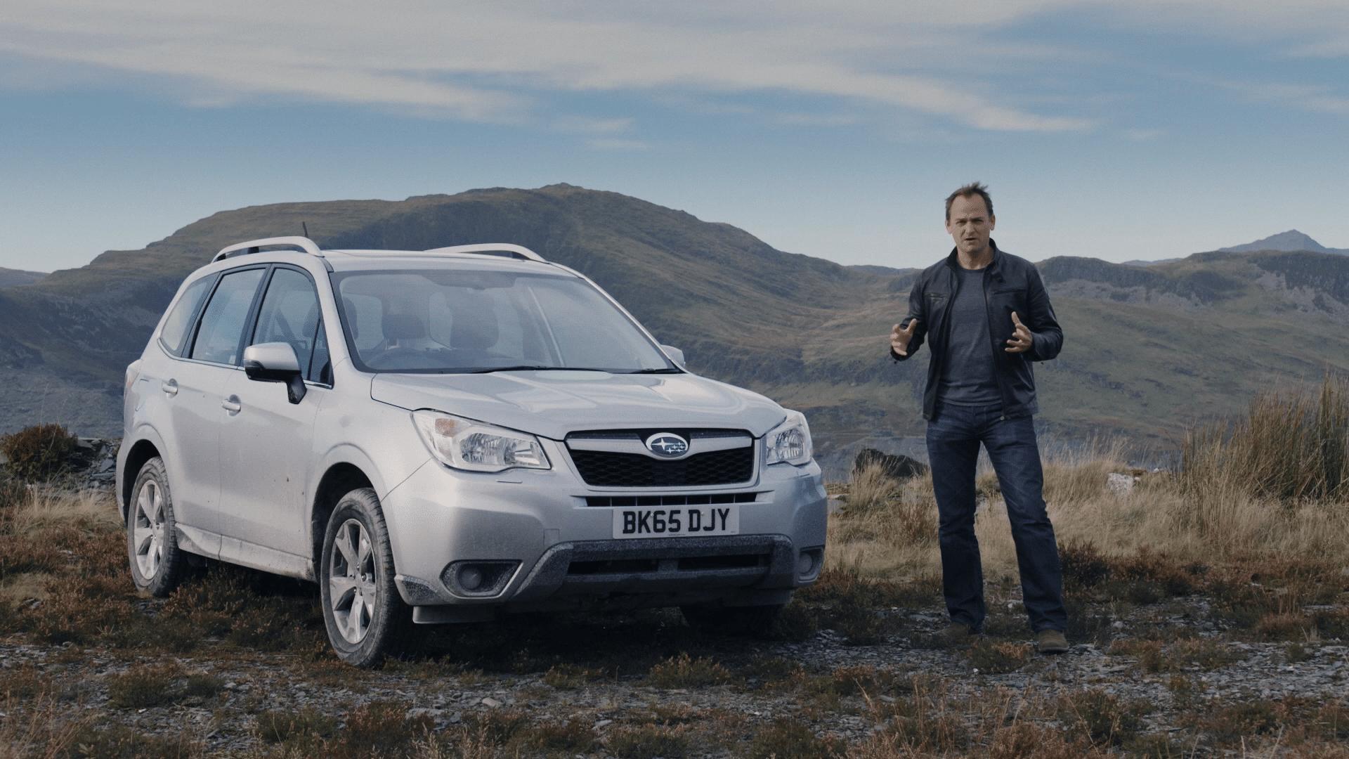 Subaru End Shot, Ad
