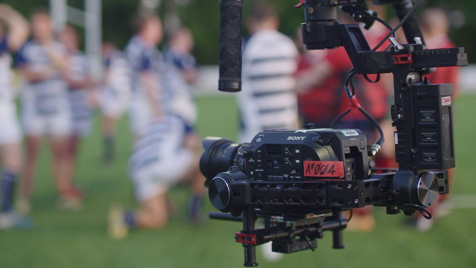 camera crew, filming behind the scenes