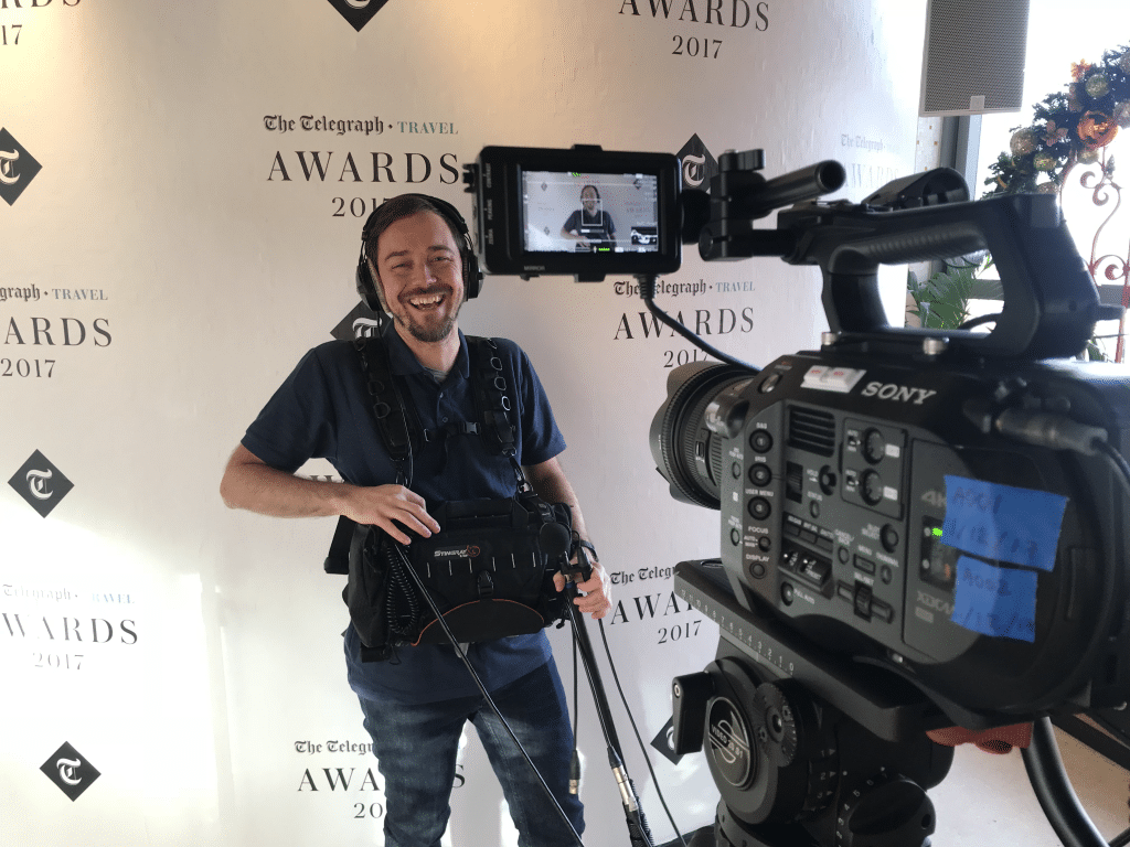 Behind the Scenes FS7, Corporate Video Production London