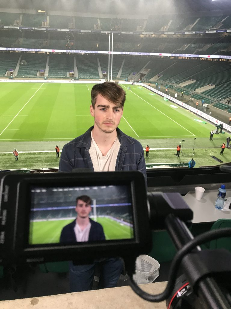 Talking Head Interview Test, Rugby Six Nations