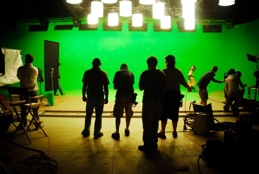 VFX studios, VFX services, Green screen, studio shoot