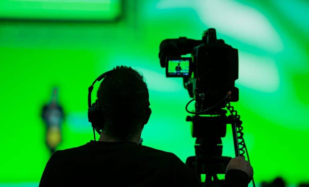 Studio Production, green screen