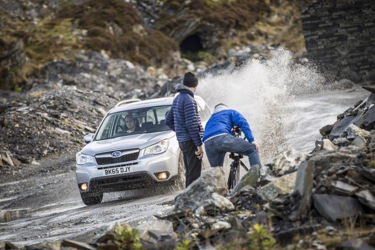 Filming Camera Crew Still Subaru Firester